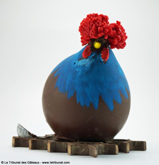 p ques poule en chocolat par patrick roger le tribunal. Black Bedroom Furniture Sets. Home Design Ideas